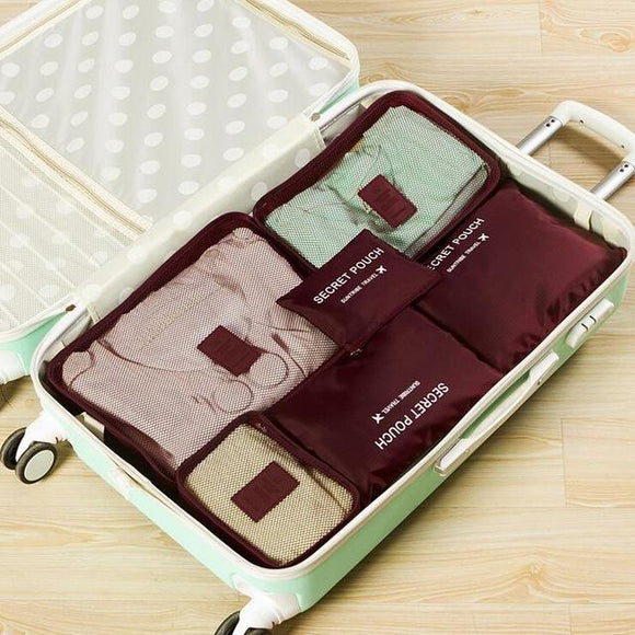 Travel Organizer Packing Cube Set (6Pcs/Set) (Available in 6 Colors)