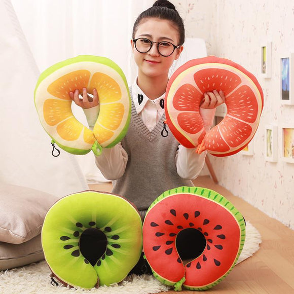 Fruit U-Shaped Neck Pillow