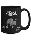 Retro Iowa Mack Mug