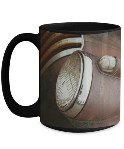 Rusty Right Head Light Mug