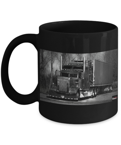 Ron Saris Edition - Black & White Mug