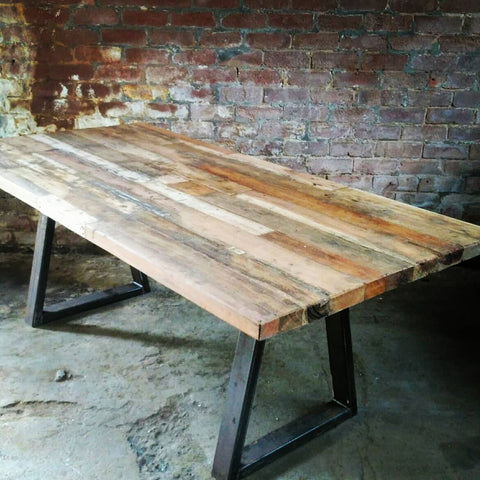 Reclaimed Hardwood Dining Table