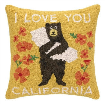 I Love you California Hook Pillow - GDH | The decorators department Store