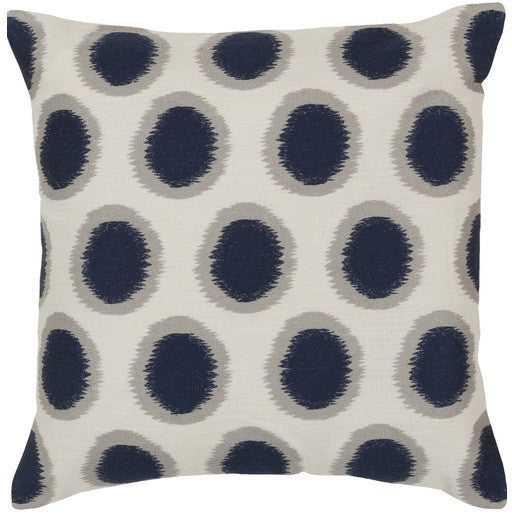 Ikat Dots | Blue - GDH | The decorators department Store