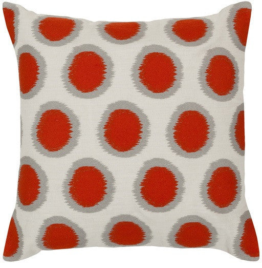 Ikat Dots | Orange - GDH | The decorators department Store