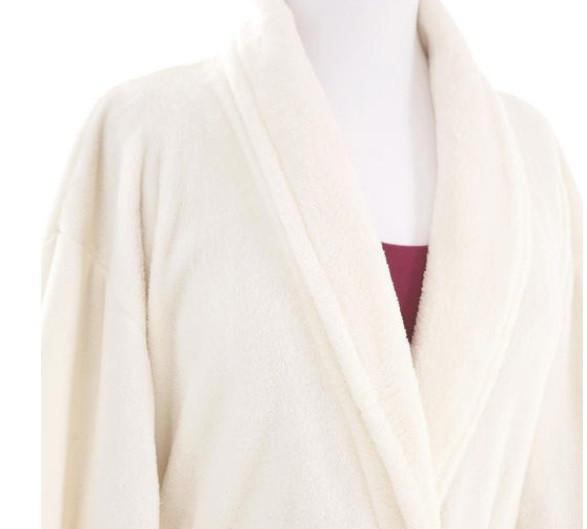 Sheepy Fleece Ivory Robe - GDH | The decorators department Store