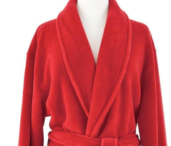 Sheepy Fleece Crimson Robe - GDH | The decorators department Store