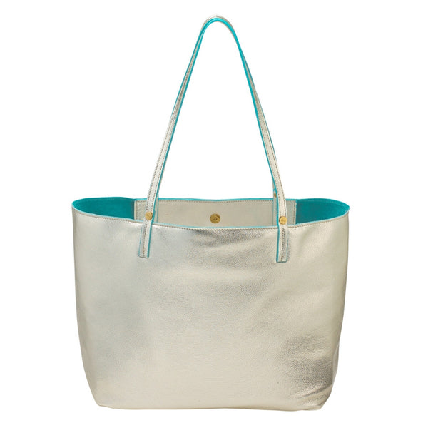 White Gold Hampton Travel Tote