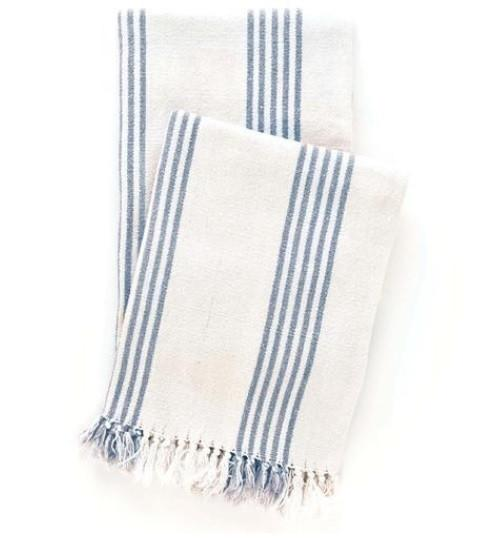Ibiza French Blue Throw - GDH | The decorators department Store