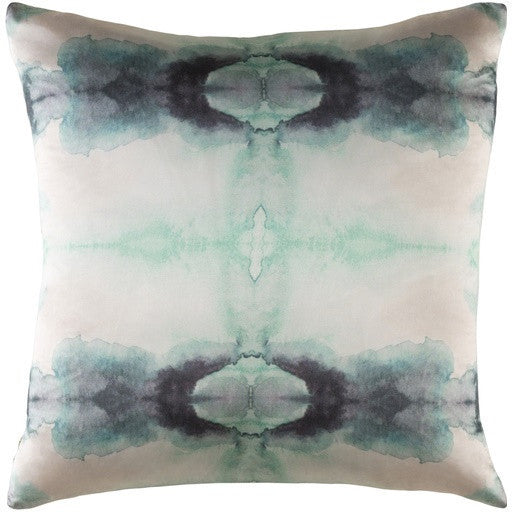 Kalos Green Silk Pillow - GDH | The decorators department Store