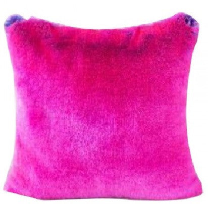 Faux Fur Pillow | Rose