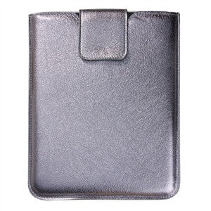 Universal I PAD Sleeve- Metallic  Leather - GDH | The decorators department Store