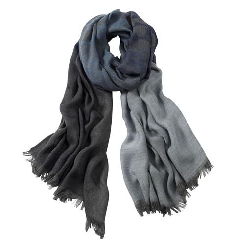 AVvOLTO Blue Shadow Leopard Ombre Stole/Scarf - GDH | The decorators department Store