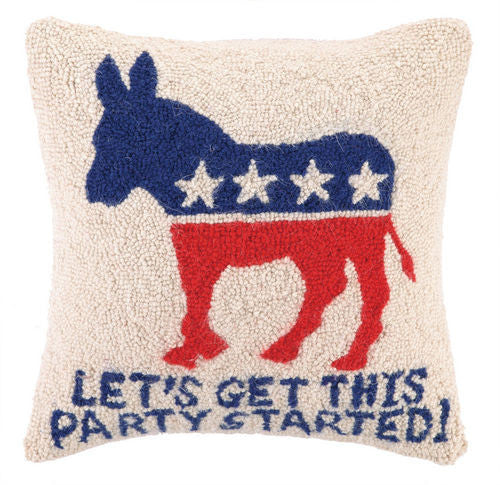 Democratic Party Started Hook Pillow