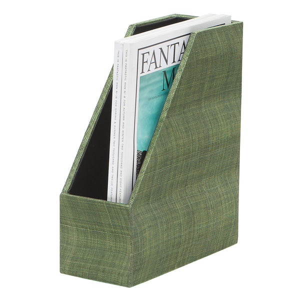 Merida Leaf Magazine Holder S/2 - GDH | The decorators department Store - 1