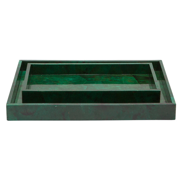 Palm Beach Jade Trays S/2