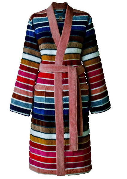 Sonia Rykiel Paris Rue De Grenelle Striped Bath Robe