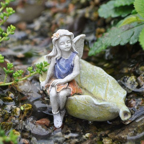 Fairy ~ Girl on Leaf
