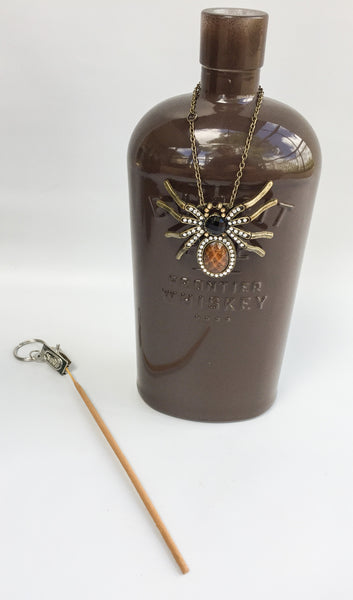 Charmed Incense Bottles - Whiskey Spider