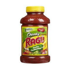 Ragu Chunky Garden Combination Sauce 680 Gm