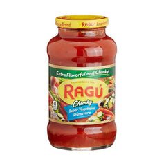 Ragu Chunky Super Vegetable Primavera Sauce 677 Gm