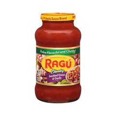 Ragu Chunky Sauteed Onion N Garlic Sauce 680 Gm