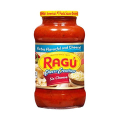 Ragu Cheese Creations Six Cheese Sauce 680 Gm