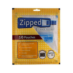 Zipped Storage Pouches