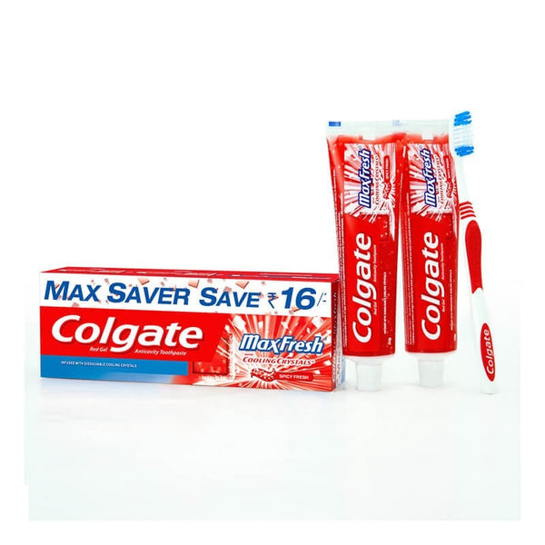 Colgate maxfresh cooling crystals red toothpaste