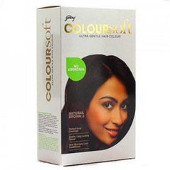 Godrej Colour Soft Natural Brown 80 Ml + 24 Gm