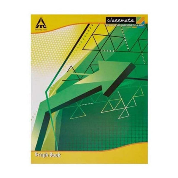 Classmate Small Graph Book Size 19 Cm X 16 Cm Soft Cover 64 Pages