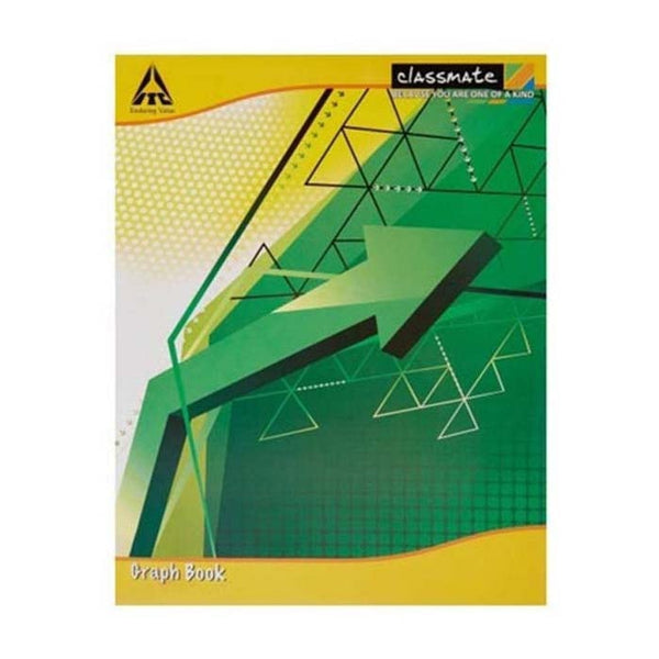 Classmate Full Size Graph Book Soft Cover Size 28 Cm X 22 Cm