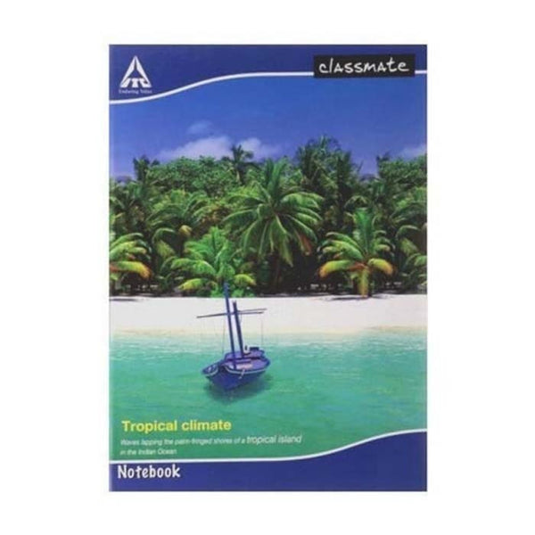 Classmate Small Exercise Book Single Line Soft Cover Size 19 Cm X 15.5 Cm