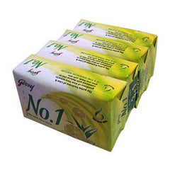 Godrej No.1 Soap Lime & Aloe Vera 4 x 65 Gm