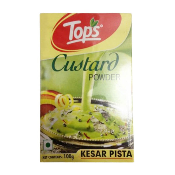 Tops-Custard Kesar Pista 100 Gm