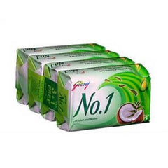 Godrej No.1 Soap Coconut & Neem 4 x 75 Gm