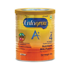 Enfagrow A+ Stage 4 Nutritional Vanilla Flavour Milk Powder 400 Gm