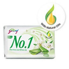 Godrej No.1 Soap Aloe & White Lily
