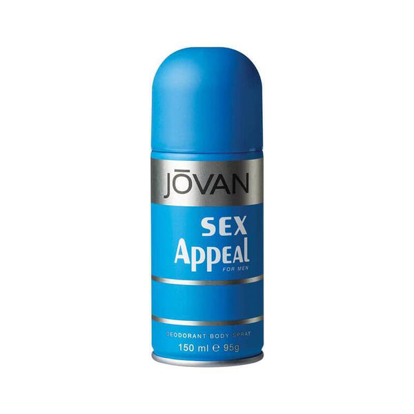 Cavinkare Jovan Sex Appeal Deodorant Body Spray for Men 150 Ml