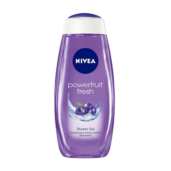 Nivea powerful fruit fresh shower gel  free loofah