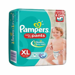 Pampers Baby Dry Pants Magic Gel Xl Disposable Diaper