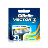 Gillette Vector 3  2N Cartridges 1 Pc