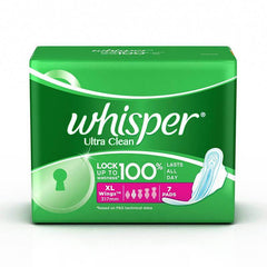 Whisper Ultra Clean Xl Wings Sanitary Pads