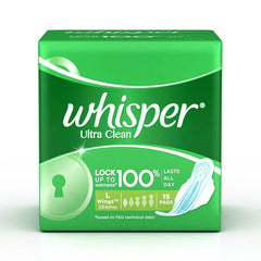 Whisper Ultra Clean L Wings Pads