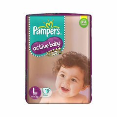 Pampers Active Baby Large Diapers