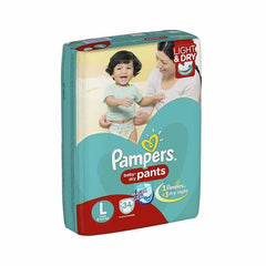 Pampers Baby Dry Pants Magic Gel Large Pants