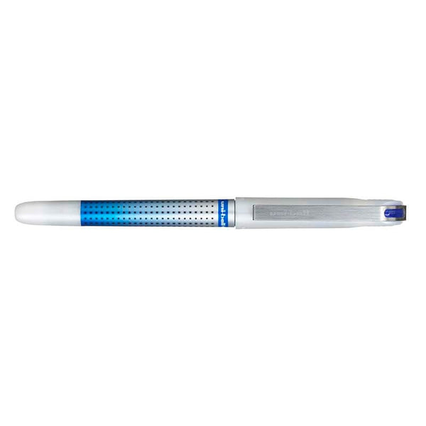 Uniball UB-187S eye Needle Fine Blue Ink Pen - Blue