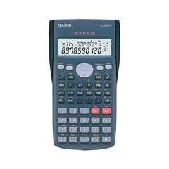Casio 2Line Display 240 Function Stat-Data Editor AA Scientific Calculator Fx-82ms