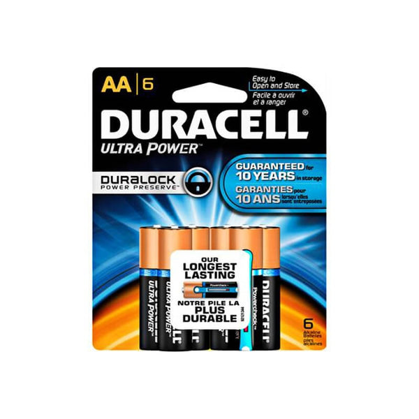 Duracell Ultra with powercheck AA|2