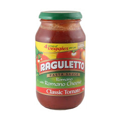 Raguletto Pasta Sauce Romano With Cheese Classic Tomato